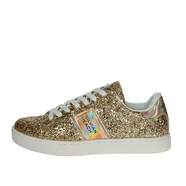 Silvian Heach Shoes Low Sneakers Gold SH-13
