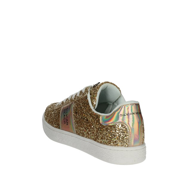 <Silvian Heach Shoes Low Sneakers Gold SH-13