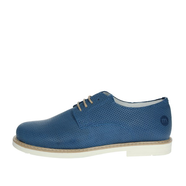 Melania Shoes Brogue Blue Avio ME6276F8E.C