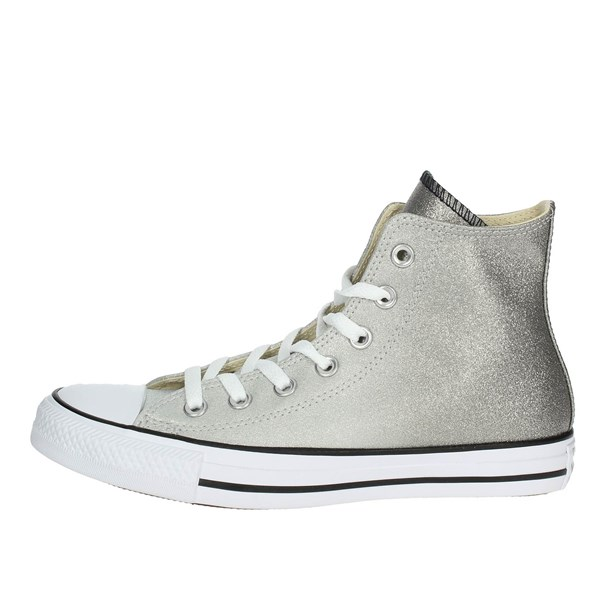 Converse Shoes High Sneakers Grey 159523C