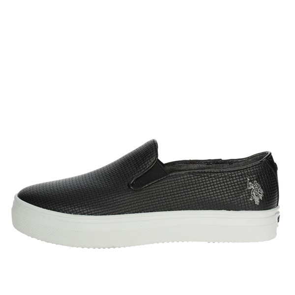 U.s. Polo Assn Shoes Slip-on Shoes Black TRIXY4155S7/YL3