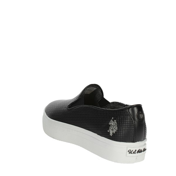 <U.s. Polo Assn Shoes Slip-on Shoes Black TRIXY4155S7/YL3