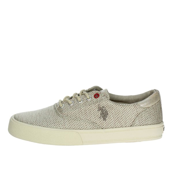 U.s. Polo Assn Shoes Sneakers Gold GALAD4130S8/T1