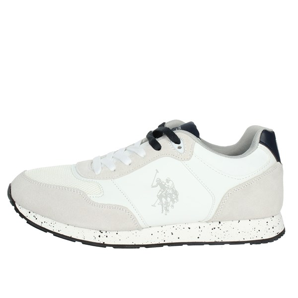 U.s. Polo Assn Shoes Low Sneakers White FLASH4060S8/LT1