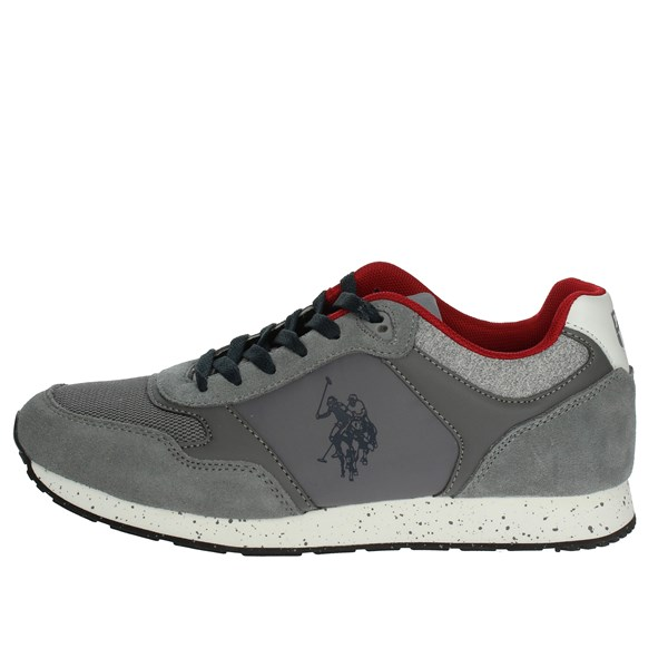 U.s. Polo Assn Shoes Low Sneakers Grey FLASH4060S8/LT1