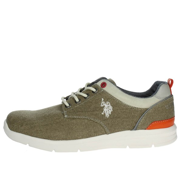 U.s. Polo Assn Shoes Low Sneakers Brown Taupe WALDO4004W7/C1