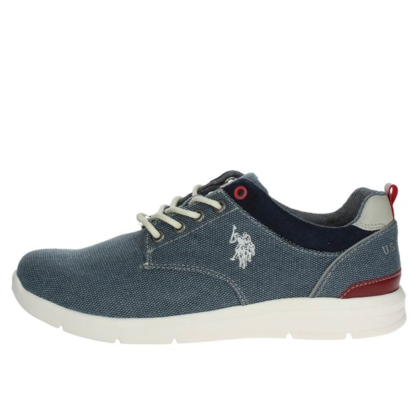 U.s. Polo Assn Shoes Low Sneakers Blue WALDO4004W7/C1