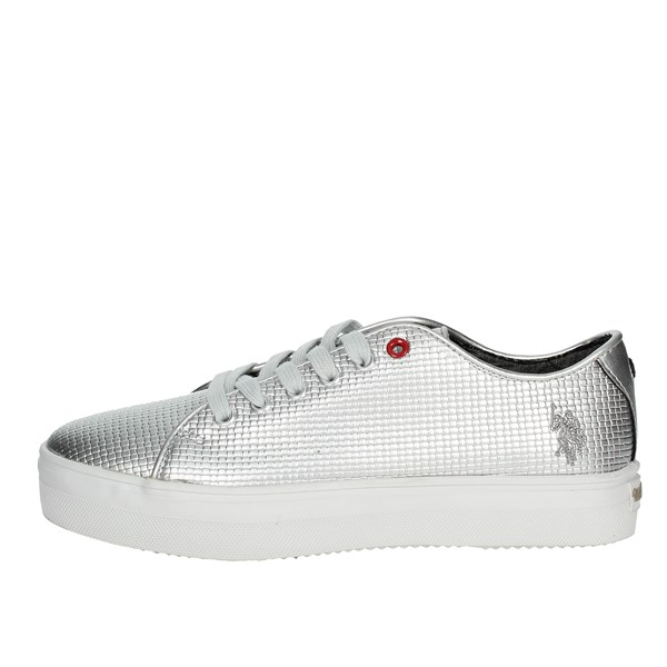 U.s. Polo Assn Shoes Sneakers Silver TRIXY4110S7/YL3