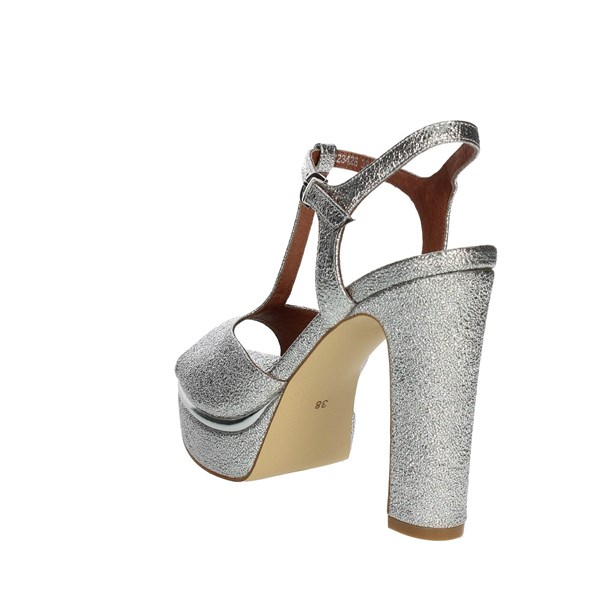 Luciano Barachini Shoes Sandals Silver 1134B