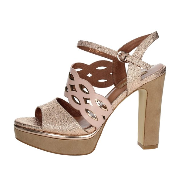 Luciano Barachini Shoes Sandals Light dusty pink 11346D