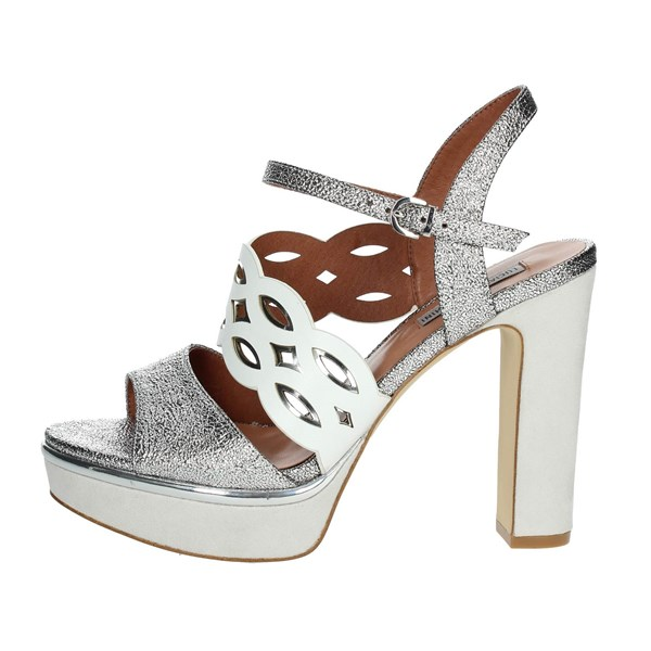Luciano Barachini Shoes Sandals Silver 11346A
