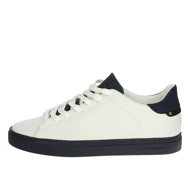 Crime London  Shoes Low Sneakers White/Blue 11208K1.10