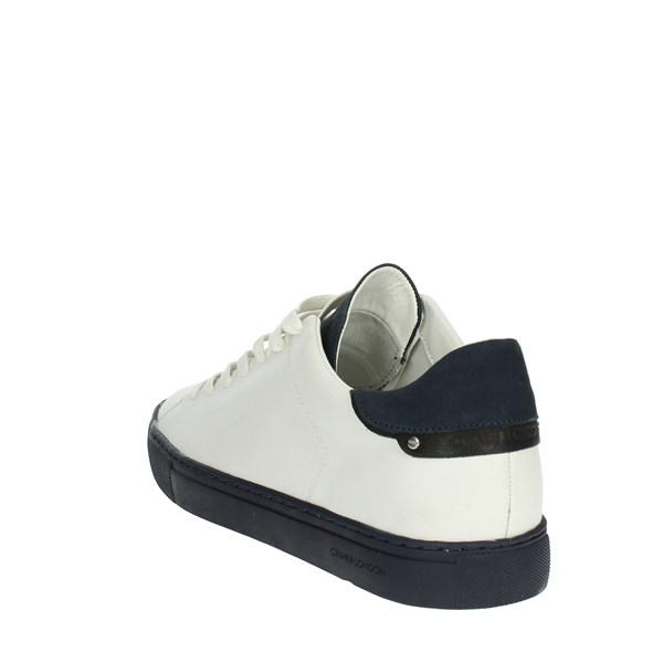 <Crime London  Shoes Low Sneakers White/Blue 11208K1.10