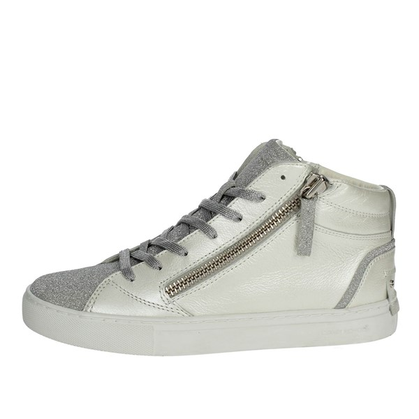 Crime London 92013K18.10 Sneakers Bassa Donna Bianco 37