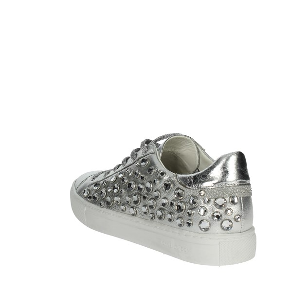 Crime London  Shoes Sneakers Silver 25221KS1.25