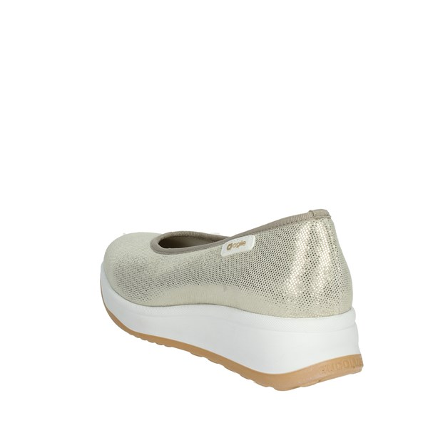 Agile By Rucoline  Shoes Ballet Flats Gold 136