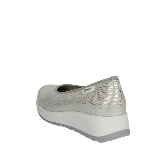Agile By Rucoline  Shoes Ballet Flats Silver 136