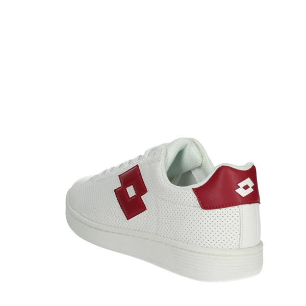 <Lotto Shoes Low Sneakers White/Red T3907
