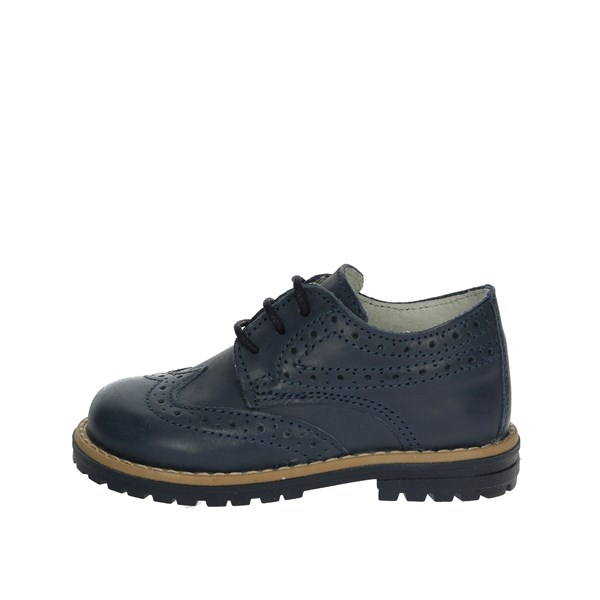 Mkids Shoes Brogue Blue MK1140B8E.A