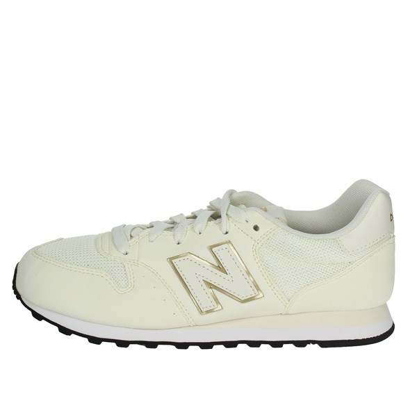 New Balance Shoes Low Sneakers Creamy-white GW500OGO
