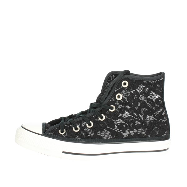 Converse Shoes High Sneakers Black 561283C
