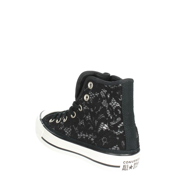 <Converse Shoes High Sneakers Black 561283C