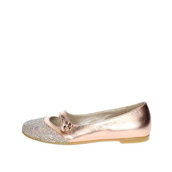Le Petit Bijou Shoes Ballet Flats Light dusty pink 8095-1