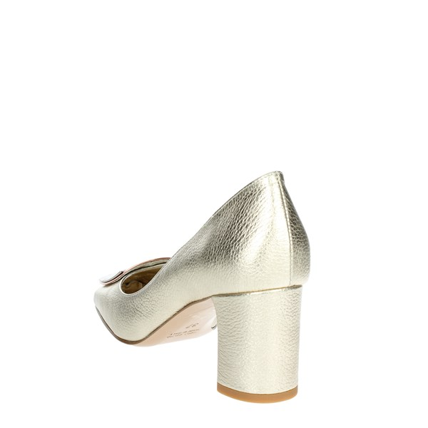 Angela C. Shoes Pumps Gold 8634