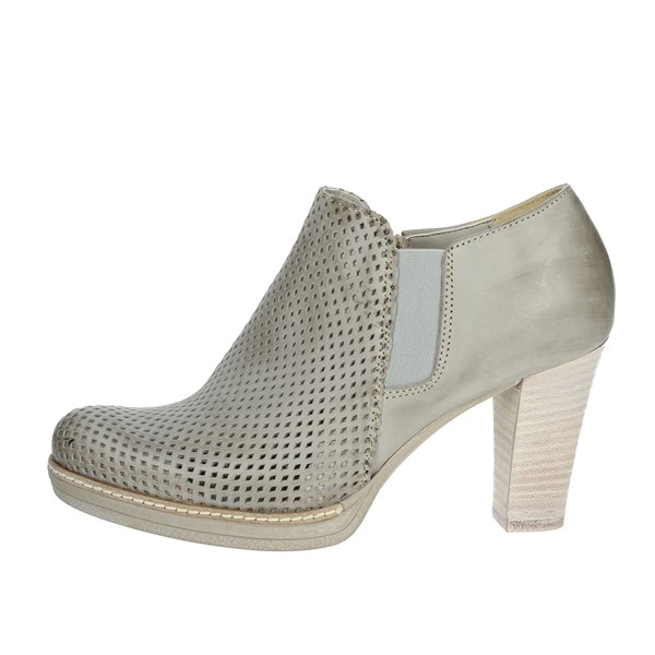 Genus Millennium Shoes Ankle Boots With Heels Ice grey P307/FR