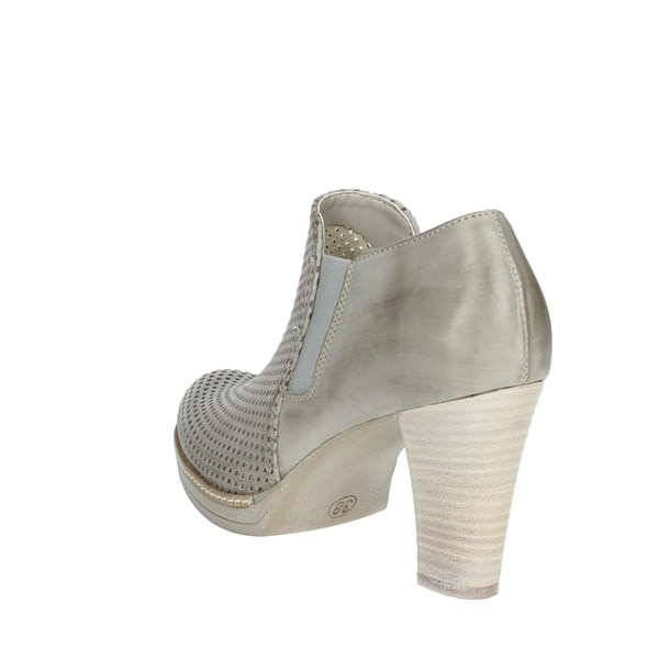 <Genus Millennium Shoes Ankle Boots With Heels Ice grey P307/FR