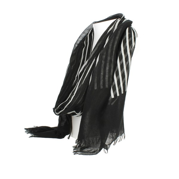 Bikkembergs Accessories pashminas Black/White SCR 12096