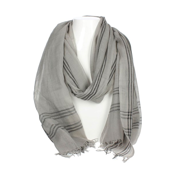 Bikkembergs Accessories Pashmina Grey SCR 12106