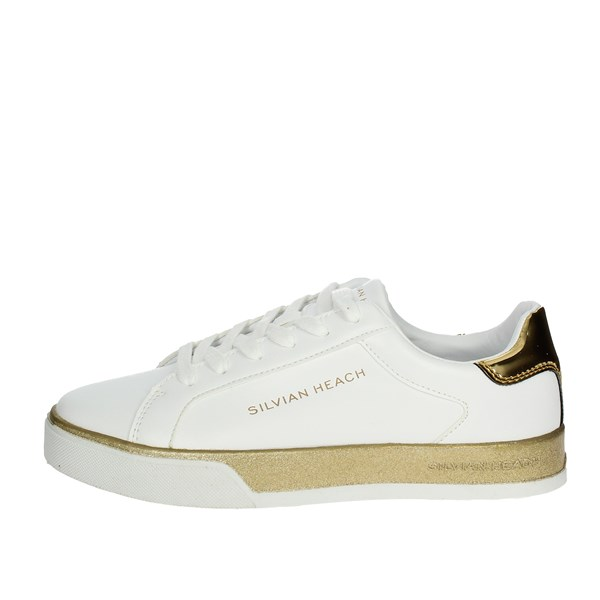 Silvian Heach Shoes Low Sneakers White/Gold SH-25