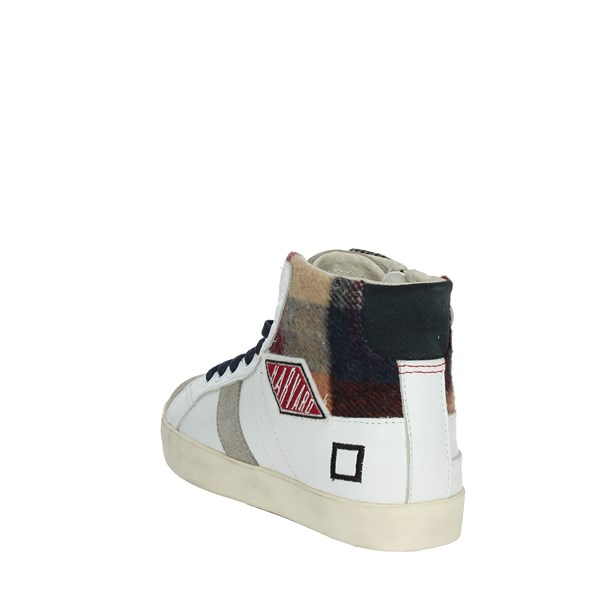 D.a.t.e. Shoes Sneakers White HILL HIGH 2-6B