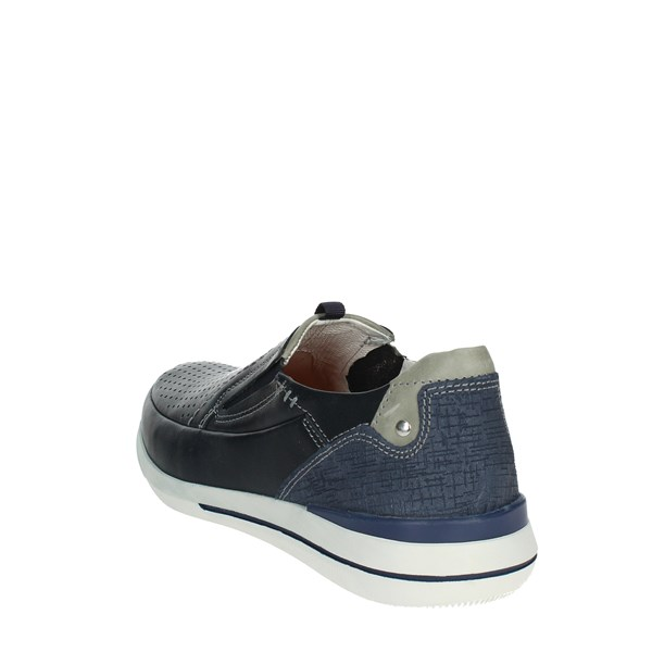 Zen Shoes Loafers Blue 677449