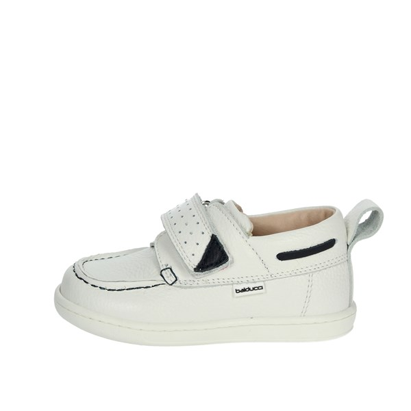 Balducci Shoes Moccasin White CITA1036