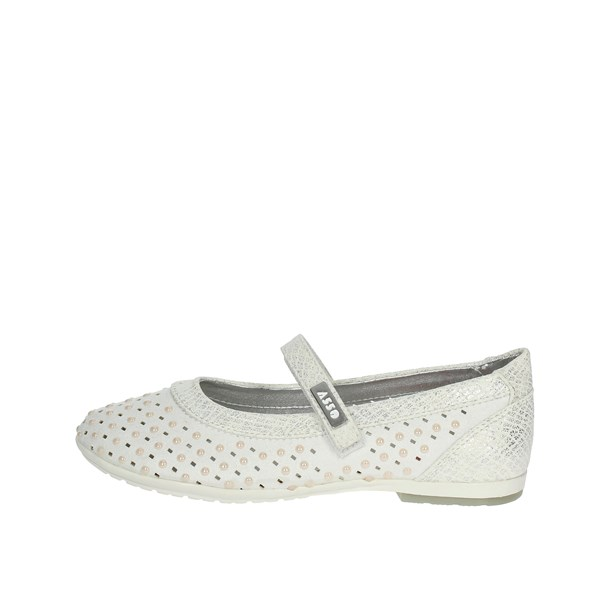 Asso Shoes Ballet Flats White 61006