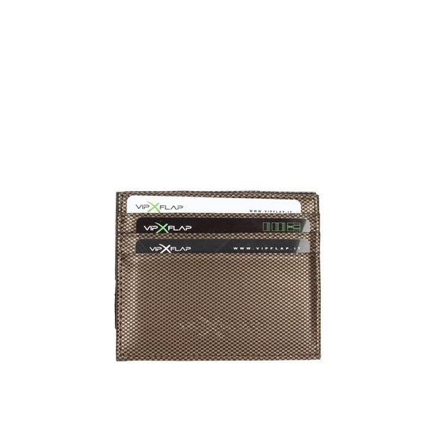 Vip Flap Accessories Card holders Bronze  VIPEL.CARBRO