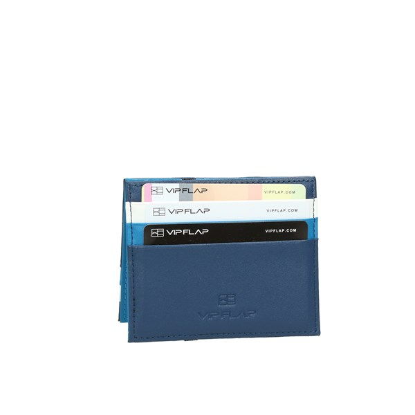 Vip Flap Accessories Card holders Blue/White VIPMUL.B/B/W