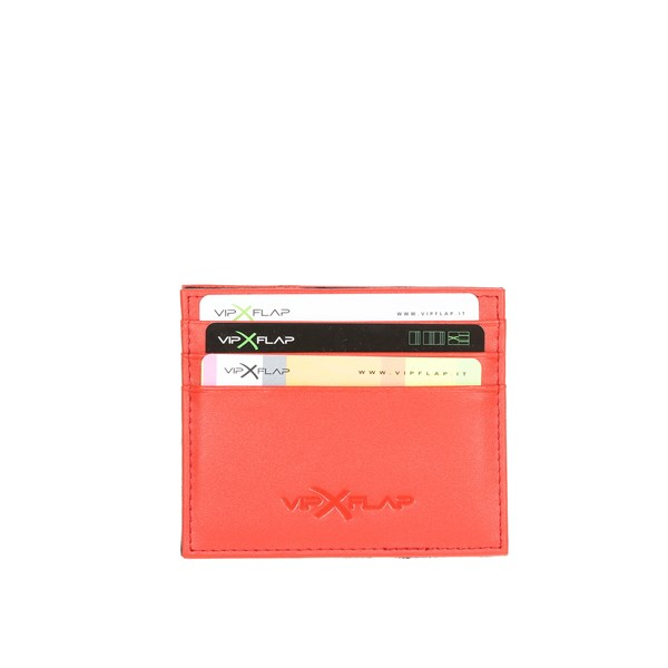 Vip Flap Accessories Card holders Red VIPCE3.ROSSO