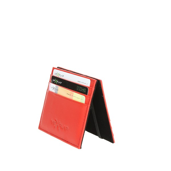 Vip Flap Accessories Business Cardholders Red VIPCE3.ROSSO