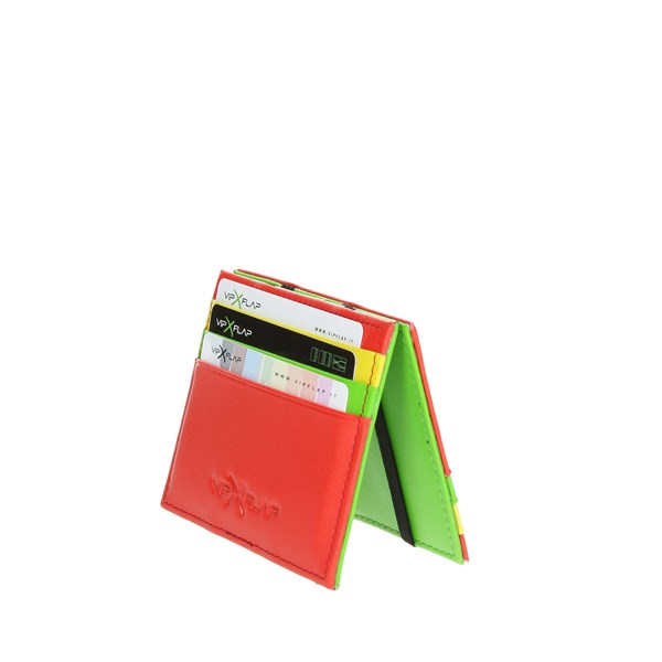Vip Flap Accessories Card holders Red/Green/Yellow VIPMUL.R/V/G
