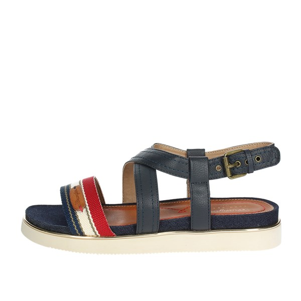 Wrangler Shoes Sandals Blue/Red WL181702