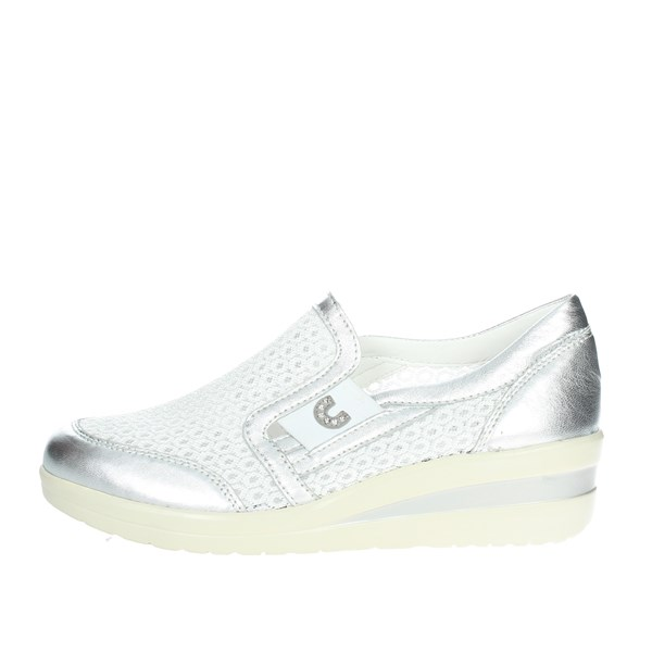 Cinzia Soft Shoes Slip-on Shoes Silver IV6640A-SMG