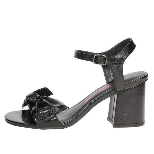Fornarina Shoes Sandals Black PE18YF2868M000
