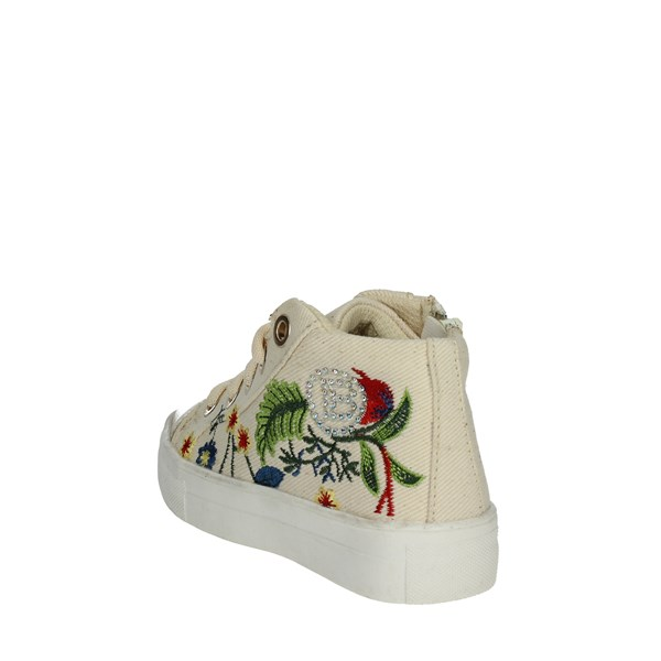 <Laura Biagiotti Dolls Shoes Sneakers Beige 3460B