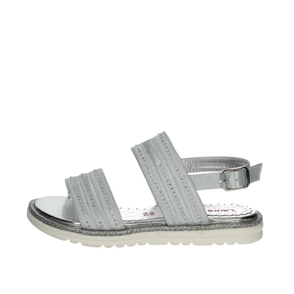 Laura Biagiotti Dolls Shoes Sandals Silver 4131
