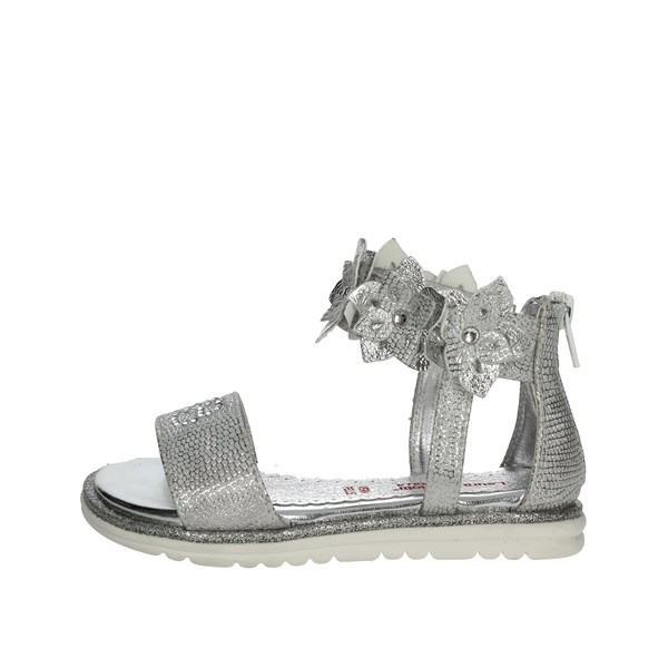 Laura Biagiotti Dolls Shoes Sandals Silver 4133