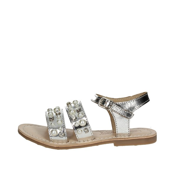 Laura Biagiotti Dolls Shoes Sandals Silver 3641