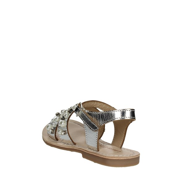 <Laura Biagiotti Dolls Shoes Sandals Silver 3641